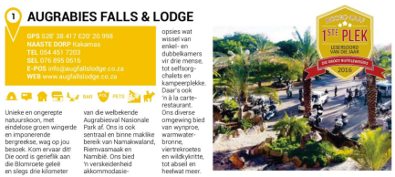 Augrabies Falls & Lodge
